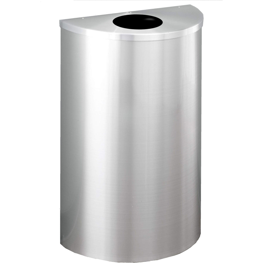 Glaro Profile Round Opening 14 Gallon Trash Can - 1892SA-SA - Trash Cans Depot