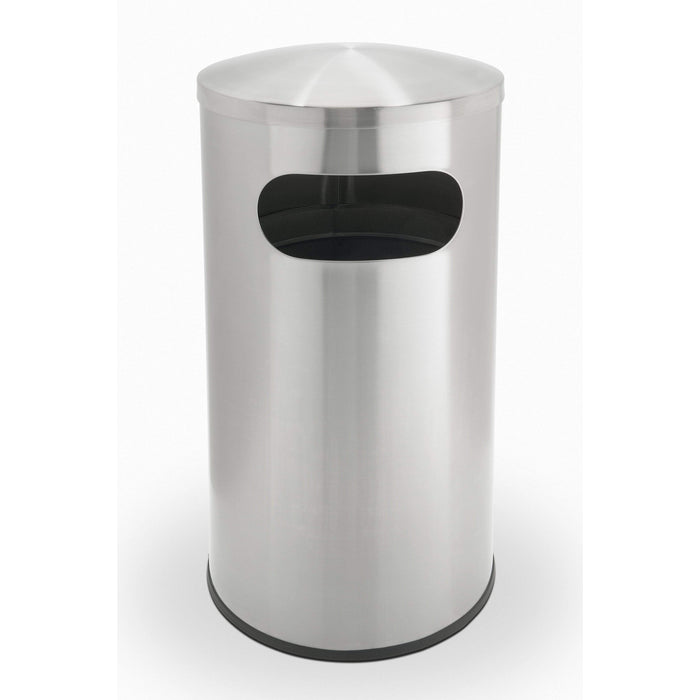 Commercial Zone Precision 15 Gallon Stainless Steel Allure Waste Container - 780329 - Trash Cans Depot