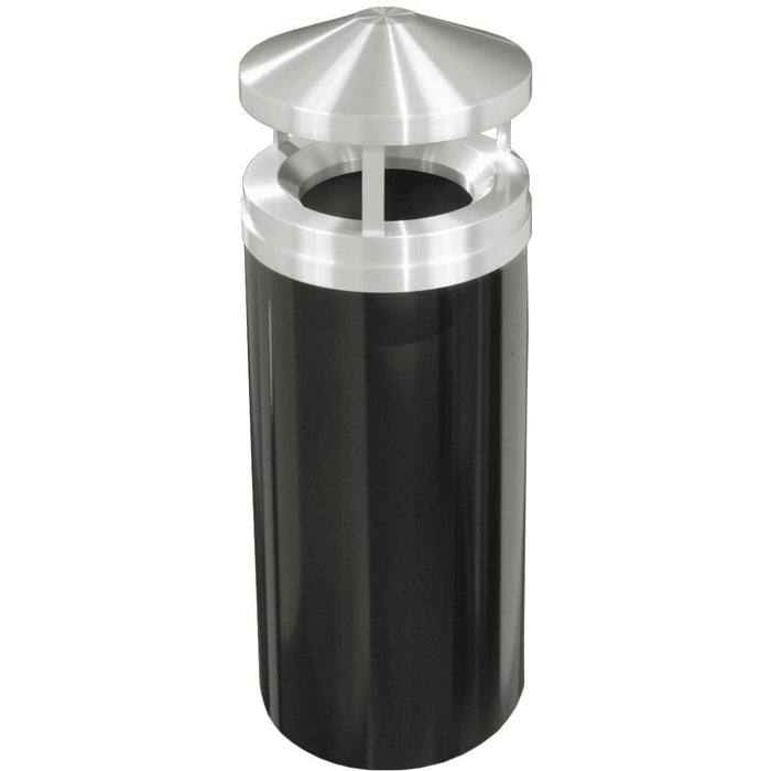 Glaro Canopy Top 16 Gallon Trash Can - H1501BK-SA - Trash Cans Depot