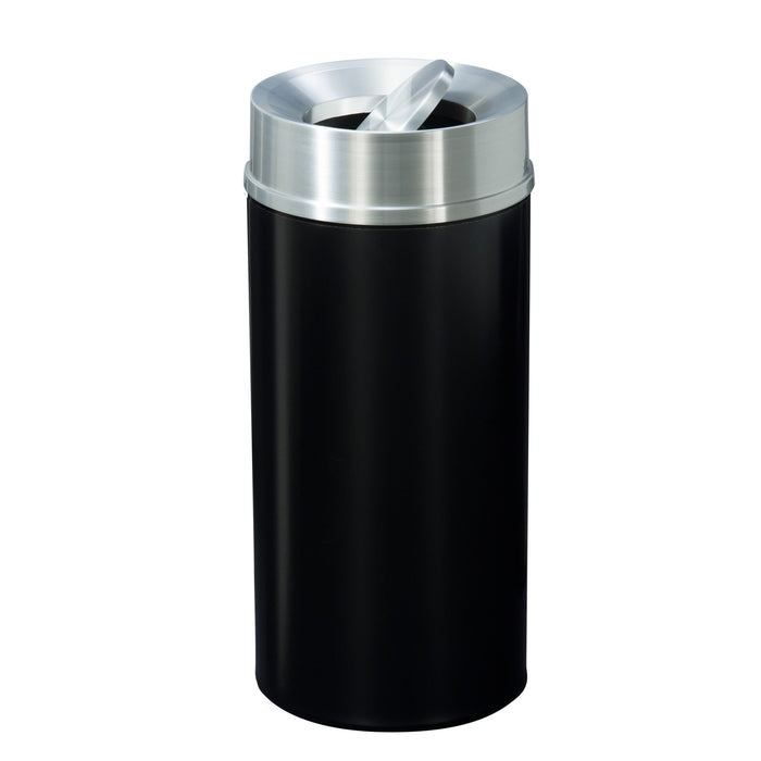 Glaro Mount Everest Tip Action 16 Gallon Trash Can - TA1533BK-SA - Trash Cans Depot
