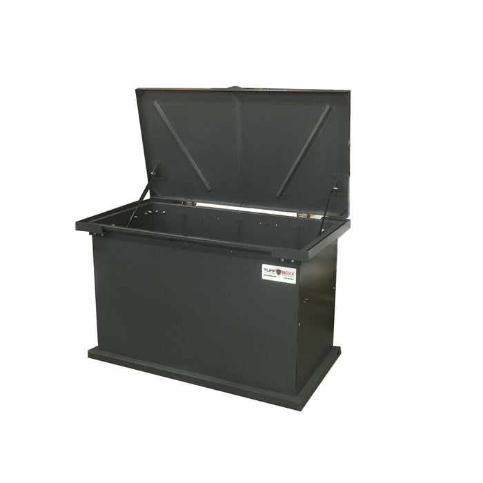 TuffBoxx Grizzly Animal Resistant 197 Gallon Steel Trash Receptacle - 453-002 - Trash Cans Depot