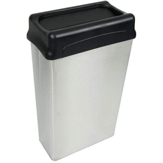 Witt Industries 22 Gallon Stainless Steel Trash Receptacle - 70HTSS - Trash Cans Depot