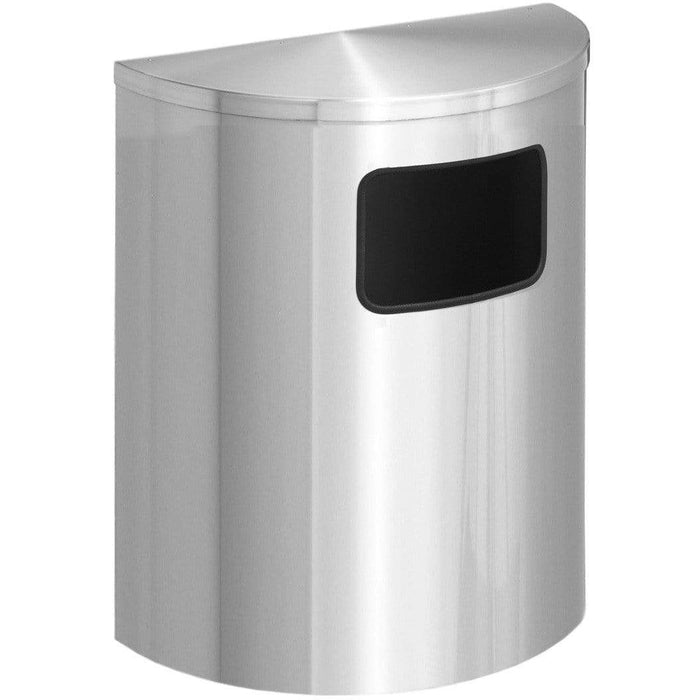 Glaro Profile Side/Front Opening 24 Gallon Trash Can - 2493SA-SA - Trash Cans Depot