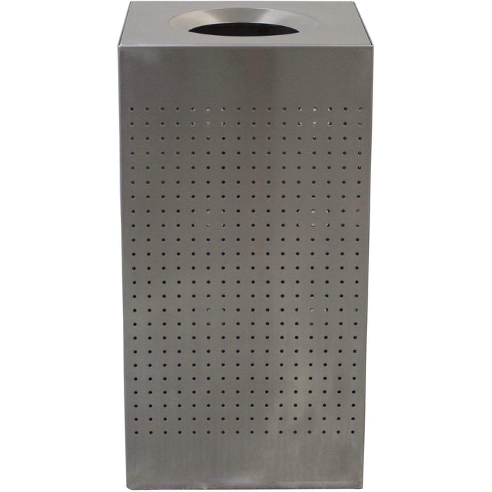 Witt Industries Celestial Collection 25 Gallon Stainless Steel Trash Receptacle - CL25-SS - Trash Cans Depot