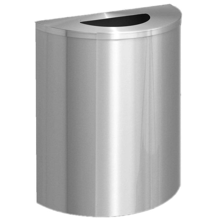Glaro Profile Half Round 29 Gallon Trash Can - 2491SA-SA - Trash Cans Depot