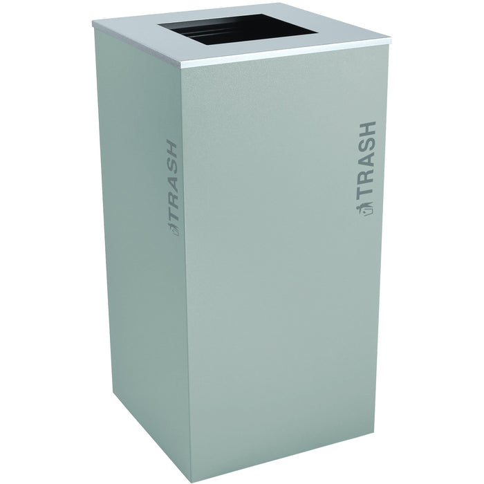 Ex-Cell Kaiser Black Tie Kaleidoscope XL Series 36 Gallon Steel Trash Receptacle - RC-KD36-T BT-HMG - Trash Cans Depot