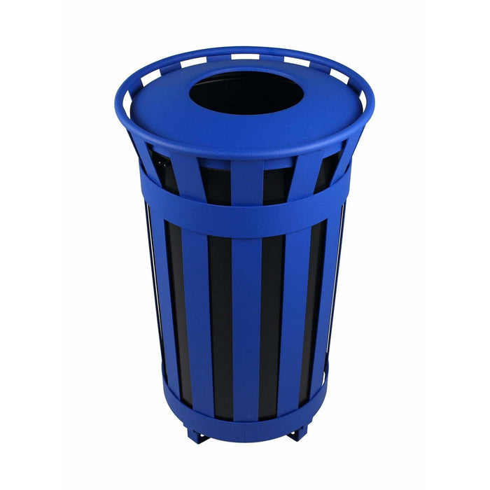 Busch Systems Denver 38 Gallon Single Stream Steel Recycling Receptacle - 101480 - Trash Cans Depot