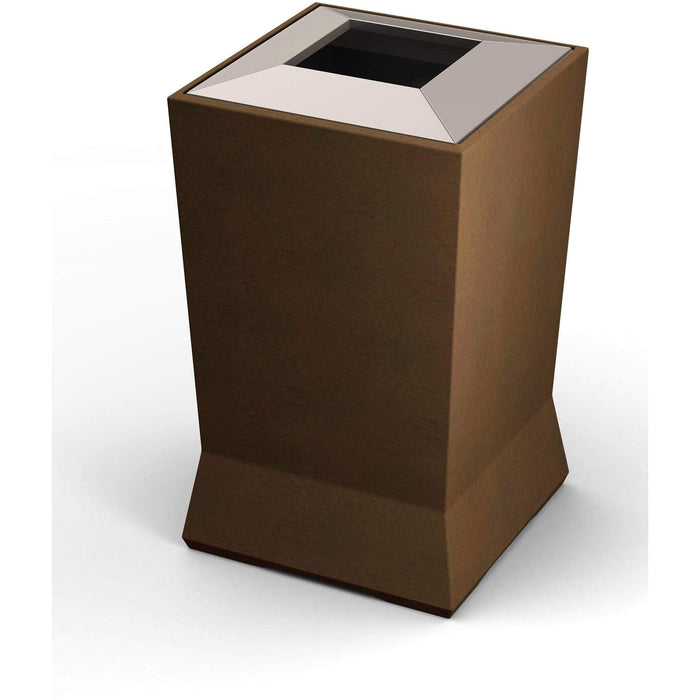 Commercial Zone ModTec 39 Gallon Plastic Large Waste Container - 724665 - Trash Cans Depot