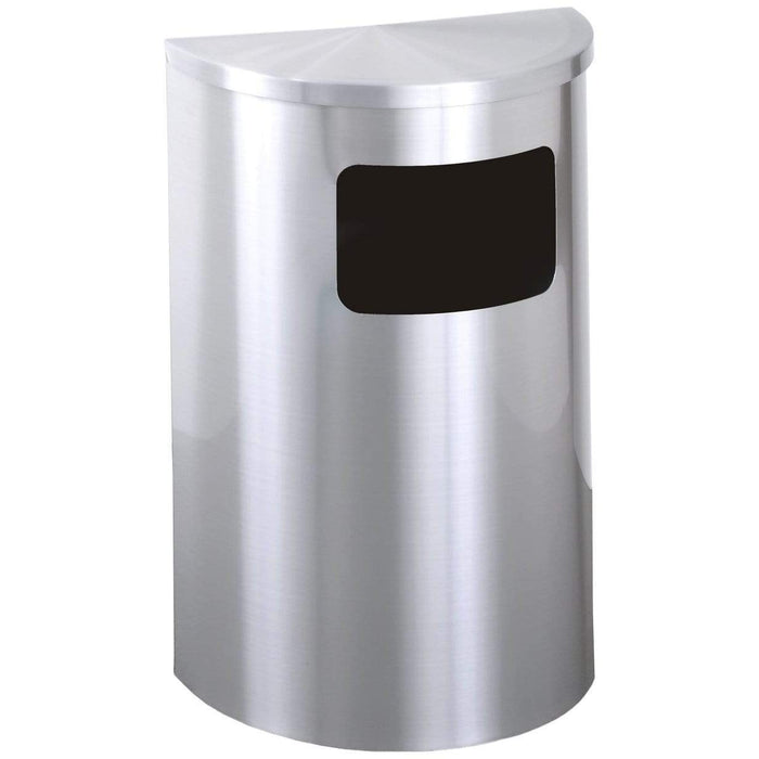 Glaro Profile Side/Front Opening 6 Gallon Trash Can - 1893SA-SA - Trash Cans Depot