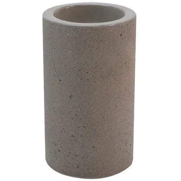 Wausau Tile Round Concrete Cigarette Receptacle Ashtray - TF2000 - Trash Cans Depot