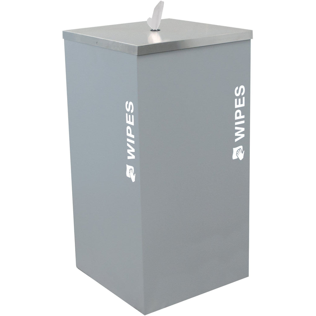 Ex-Cell Kaiser Black Tie Kaleidoscope Collection Steel Sanitizing Wipe Dispenser - SW-KD-HMG - Trash Cans Depot