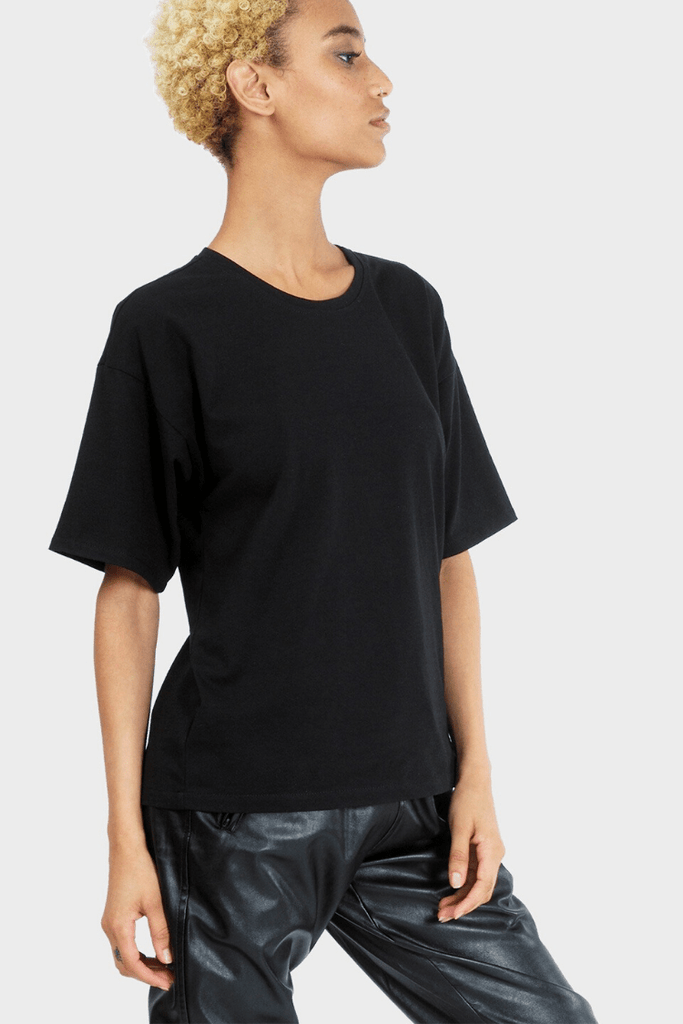 337 Brand Women's Tops and Tees Circularity T-Shirt • Black