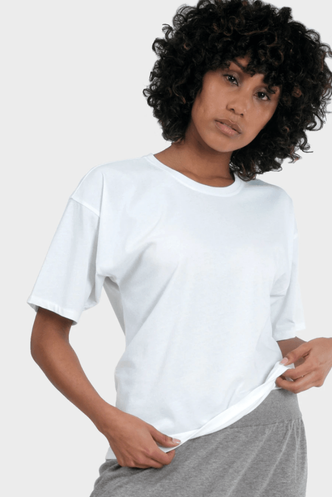 337 Brand Women's Tops and Tees Circularity T-Shirt • White