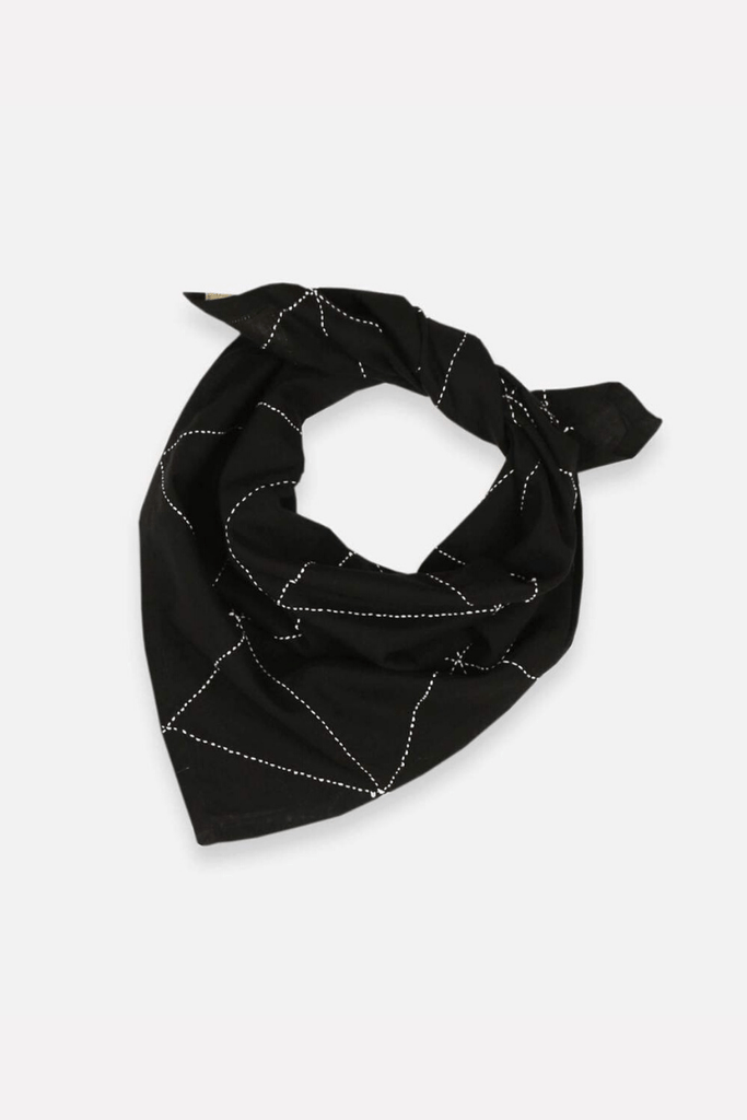 Anchal Women's Scarves Graph Bandana • Charcoal