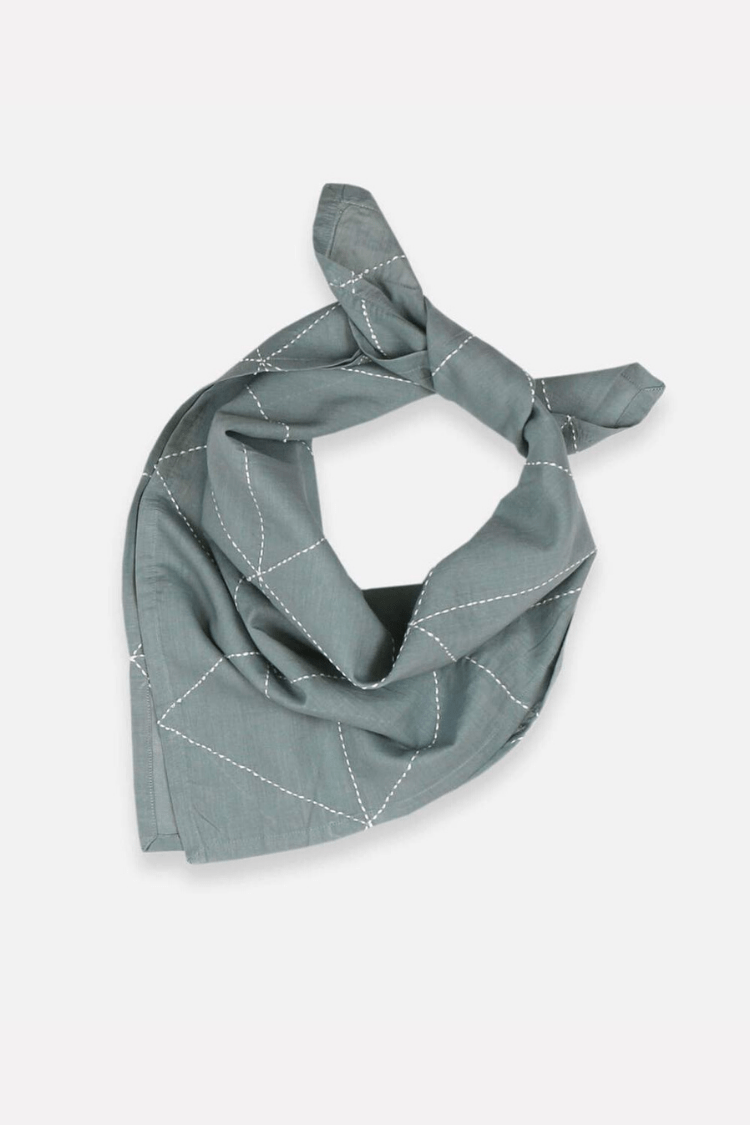 Anchal Women's Scarves Graph Bandana • Spruce