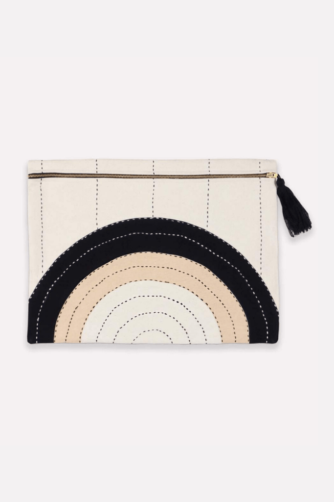 Anchal Women's Clutches Oversized Pouch Clutch • Eclipse