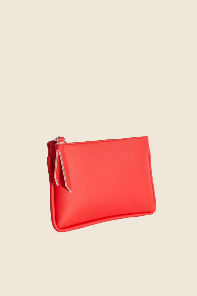 Hozen Women's Wallets Card Pouch • Rouge