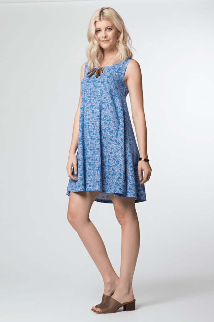 Mata Traders Women's Dresses Bellini Dress • Blue