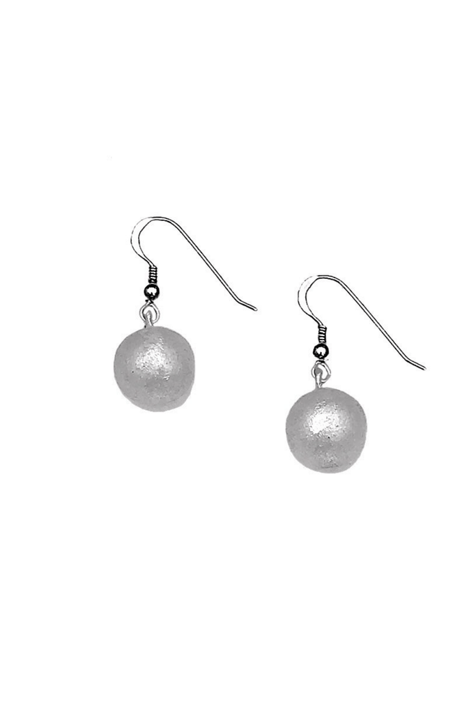 SLATE + SALT Women's Earrings Recycled Bombshell Ball Earrings