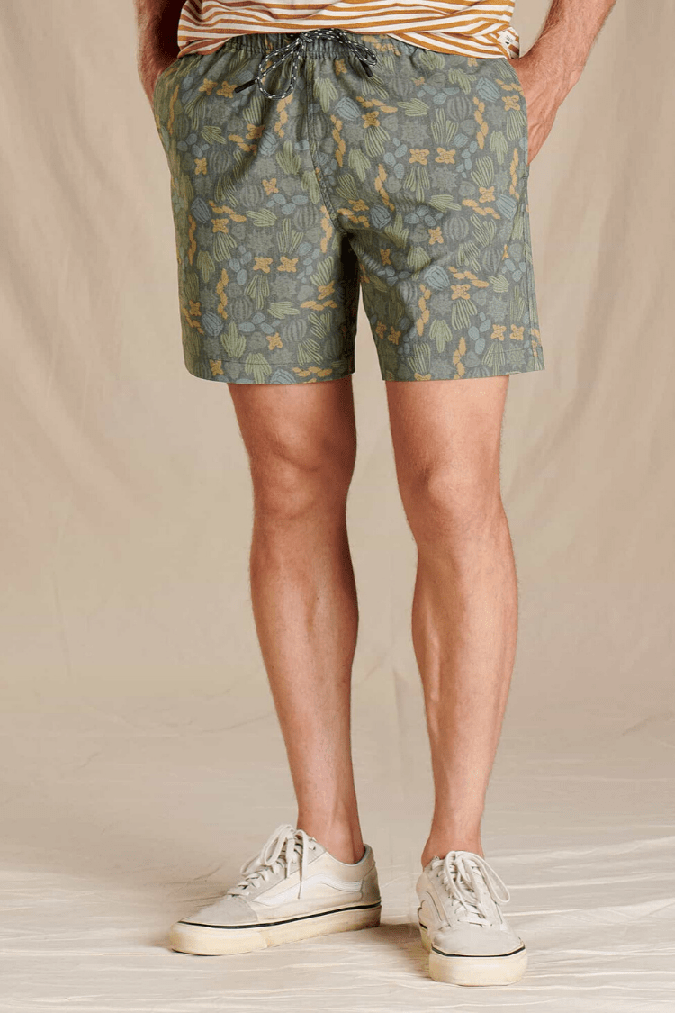 Toad & Co. Men's Shorts Boundless Pull-On Shorts • Olive Cactus