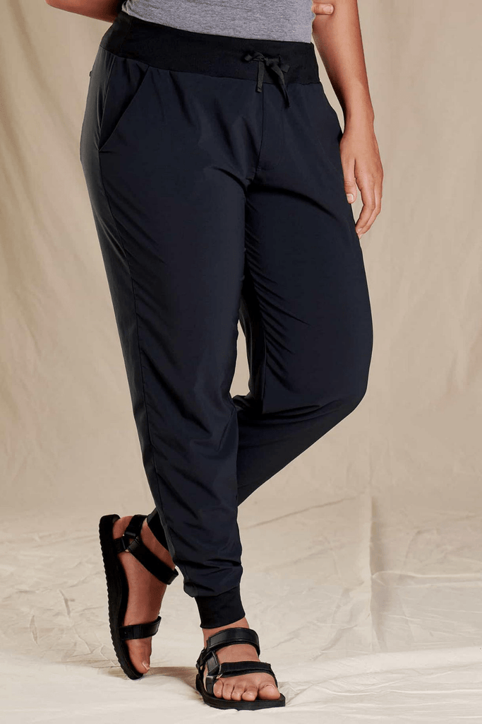 Toad & Co. Women's Pants Debug Sunkissed Jogger • Black