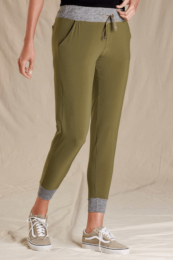 Toad & Co. Women's Pants Debug Sunkissed Jogger • Olive