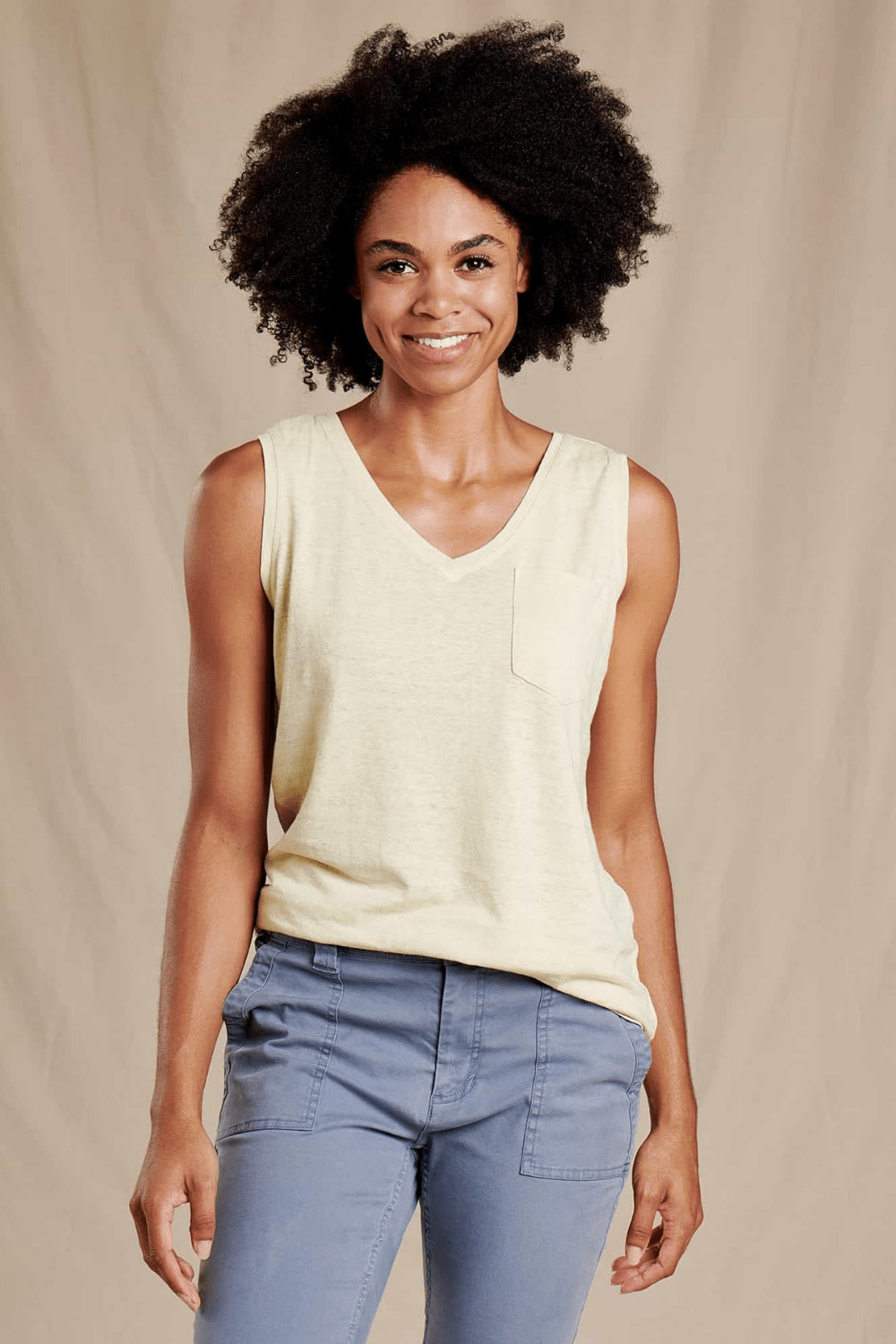 Toad & Co. Women's Tops Grom Tank • Desert