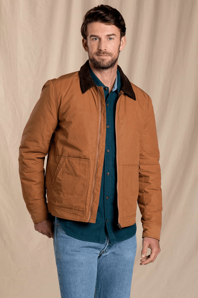 Toad & Co. Men's Jackets Mcway Trucker Jacket • Tabac