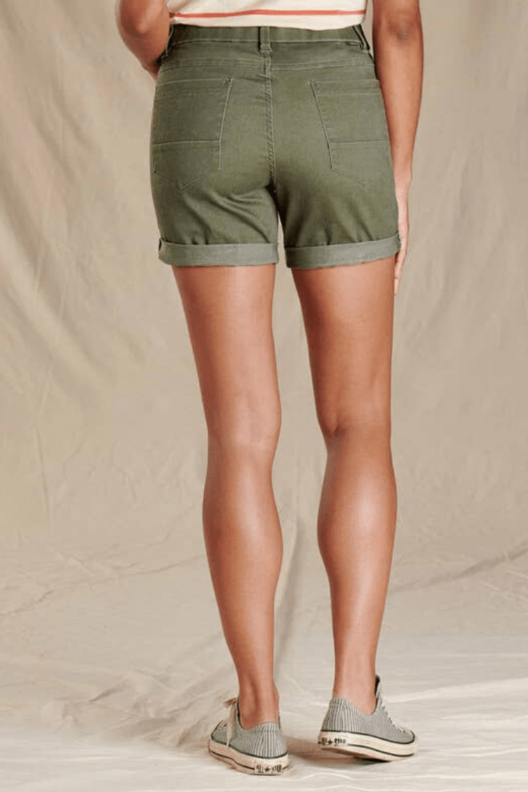 "Toad & Co. Women Shorts Sequoia 5"" Short • Beetle"