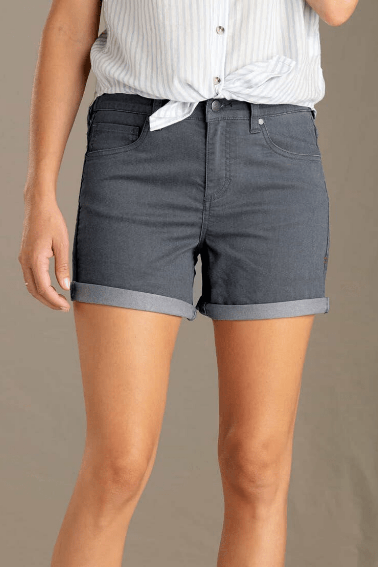 "Toad & Co. Womens Shorts Sequoia 5"" Shorts • Iron Throne"