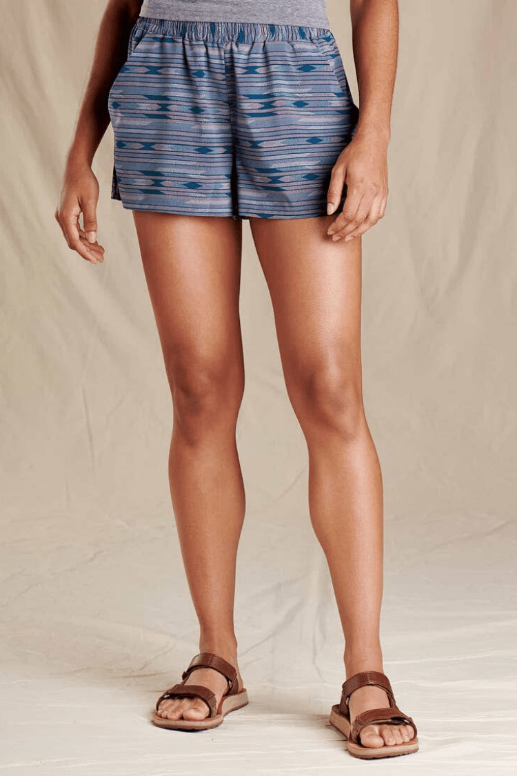 Toad & Co. Women's Shorts Sunkissed Pull-On Shorts • Blanket Print