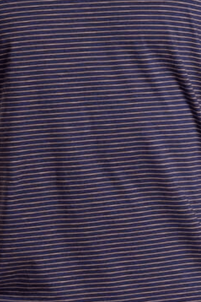 Toad & Co. Men's Tops Tempo Shirt • True Navy Stripe