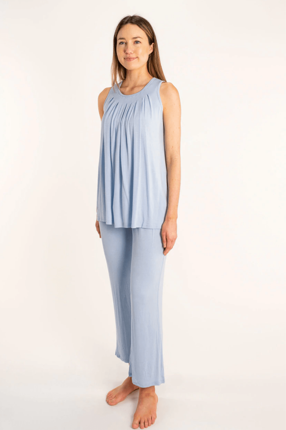 Yala Women's Sleepwear Delia Pajama Set • Sea Foam