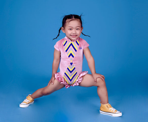 Minky Star- Kids Ruffle Leotard