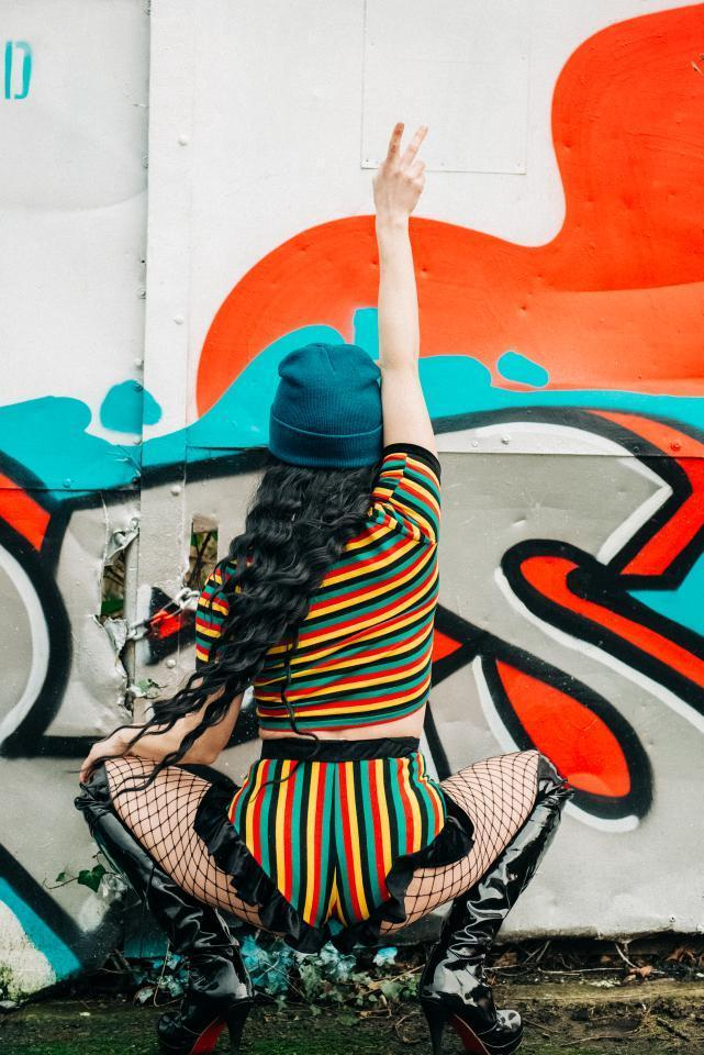 Rasta Bum - Two Piece Set