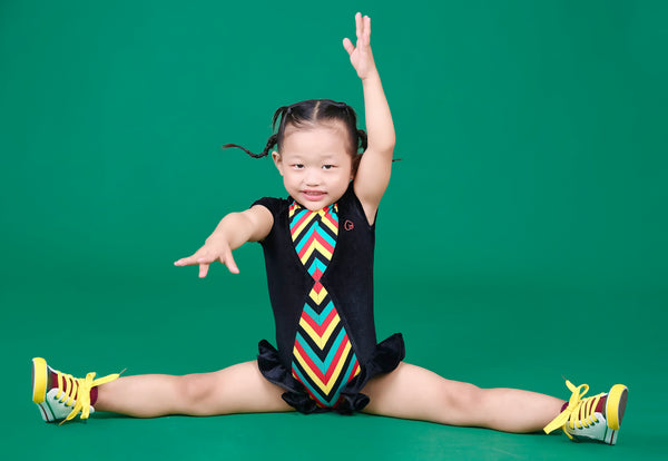 Little Rasta Bum - Kids Leotard