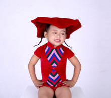 Load image into Gallery viewer, Little Circus Bum- Kids Ruffle Leotard