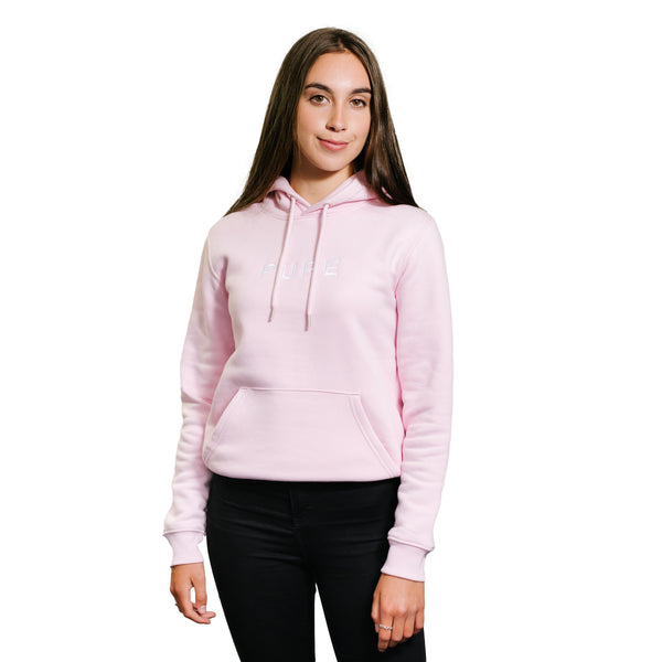 The Hamilton Hoodie - Cotton Pink - PURE CLOTHING