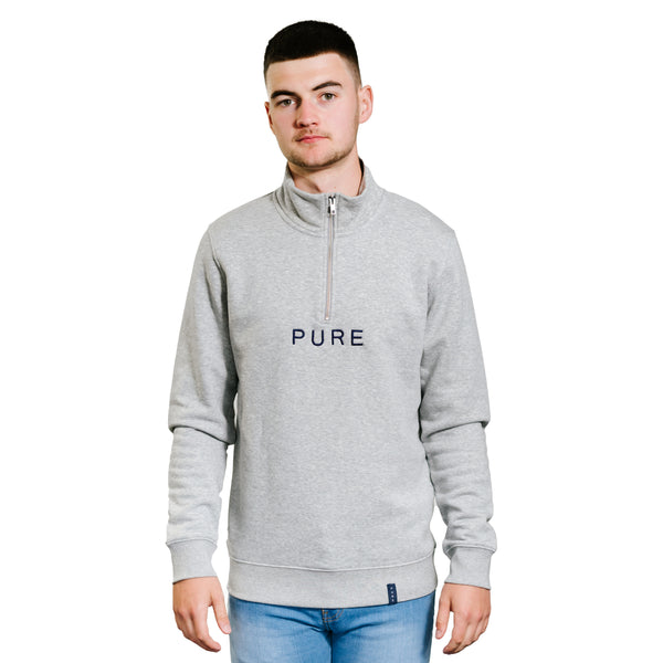 The Luxe Quarter Zip - PURE CLOTHING