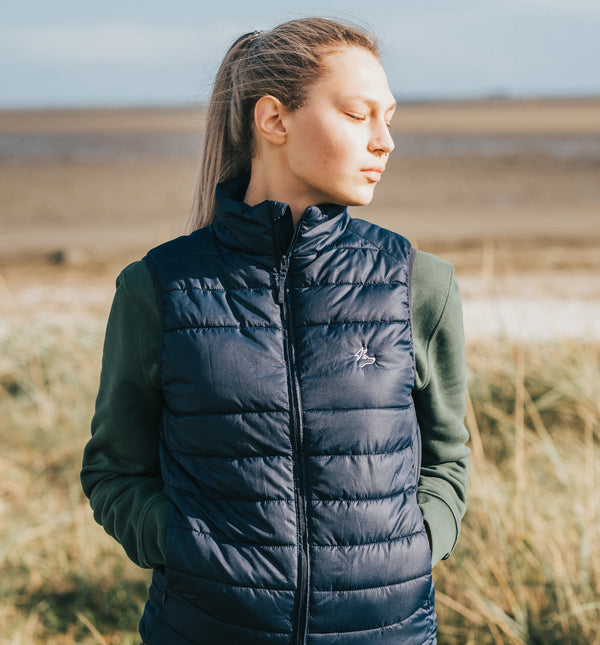 The Axis Gilet - Navy
