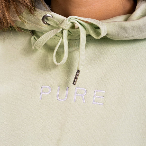 The Alpine Oversized Hoodie - Stem Green