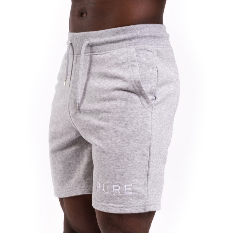 The Tempis Shorts - Heather Grey