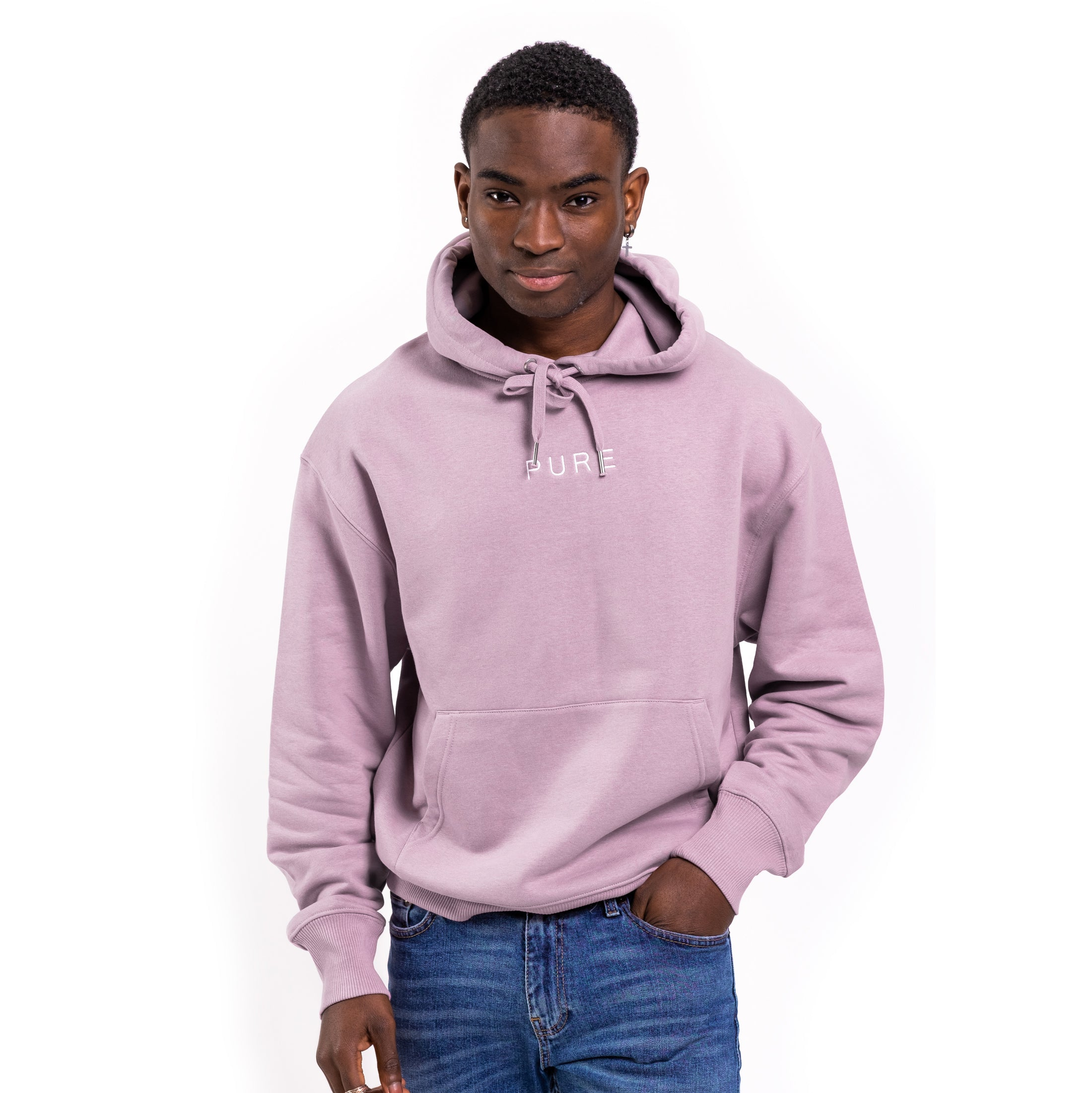 The Alpine Oversized Hoodie - Lilac Petal
