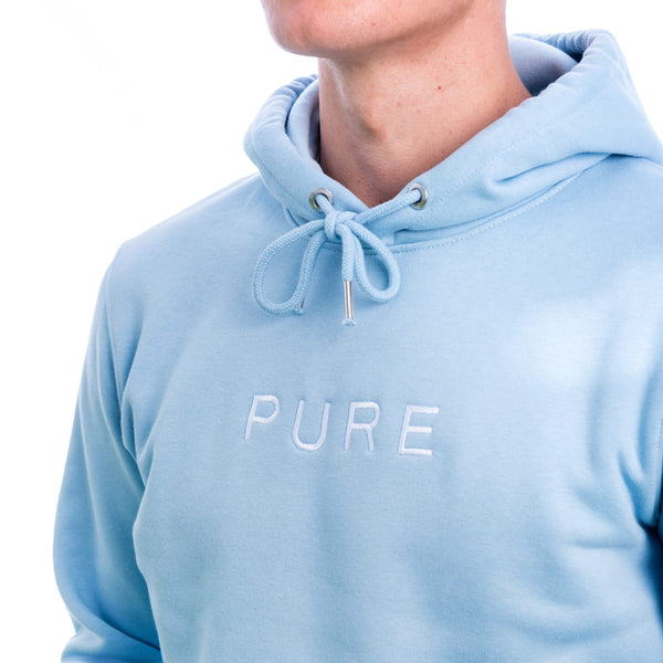 The Hamilton Hoodie - Sky Blue - PURE CLOTHING