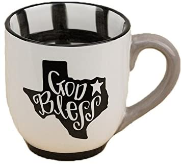 God Blessed Texas Mug