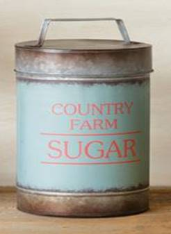Country Farm Canister-Sugar
