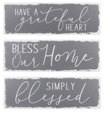 """Bless our Home"" Sign"