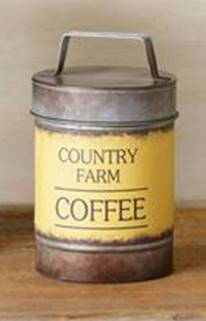 Country Farm Canister-Coffee