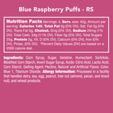 Blue Raspberry Puffs
