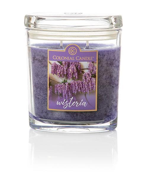 Wisteria Scented Jar Candle- 8oz